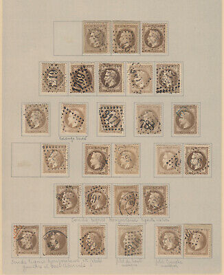 N°30 Lot Obliterations Timbre Stamp Briefmarken