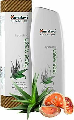 Himalaya Botanique Hydrating Natural Face Wash with Aloe Vera, Lavender Oil and