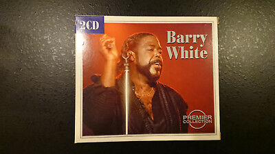 Musik CD Box - Barry White Premier Collection - in originaler Papphülle
