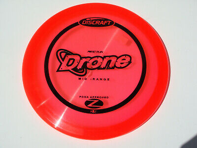 DISC GOLF DISCRAFT RED ZFLX NUKE SS 173-174g DISTANCE DRIVER Z