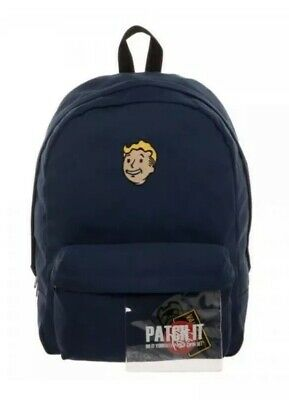 Backpack Fallout Patch It New Licensed Bioworld Blue