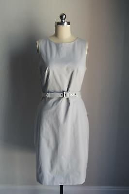 bdcc488c NEW J CREW $128 Belted sheath dress in two-way stretch cotton Size 0 ...