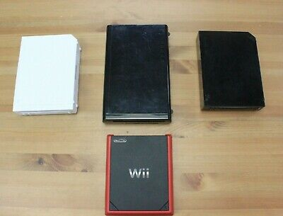 Nintendo Wii Wii U Console Only Black Mini White Tested and Working