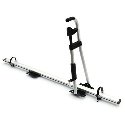 Lockable Aluminum Universal Upright Car Roof Mounted Bike Carrier Bicycle Rack