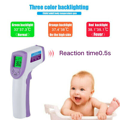Baby/Adult Digital IR Infrared Body Termometer Non-Contact Forehead Thermometer