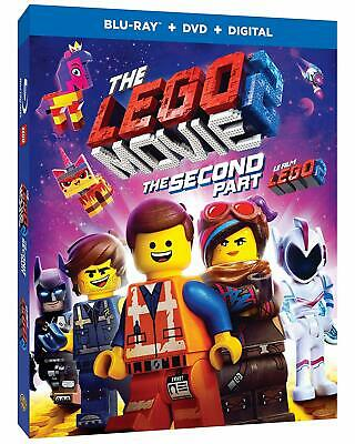 The Lego Movie 2: The Second Part ( Blu-ray/DVD/Digital ) with Slipcover 2019