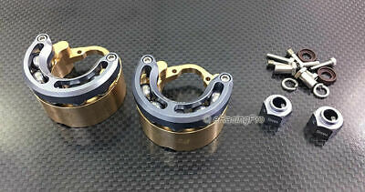 Brass Pendulum Wheel Knuckle Axle Weight 6mm Hex for Traxxas TRX4 Trail Crawler