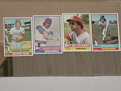 1976 TOPPS LOT - YOU PICK (20) COMPLETE YOUR SET - HUGE INVENTORY - ExMt+