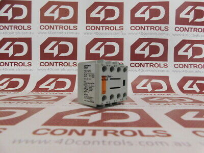 Sprecher + Schuh CS7-PV-22 Auxiliary Contact Block - Used