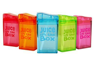 REFILLABLE REUSABLE JUICE BOX Drink In The Box - 235ml