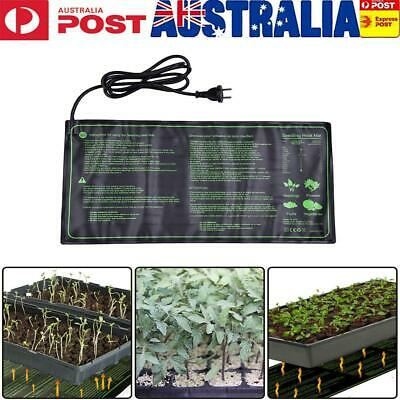 18W Waterproof Seedling Plant Hydroponic Heat Mat Pet Retile Warm Heating Pad AU