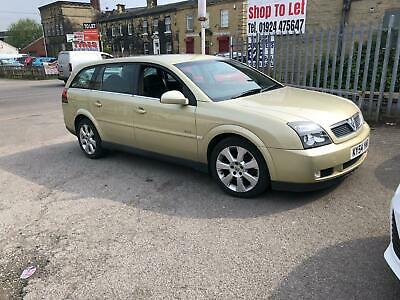 Vauxhall Vectra 3.0CDTi V6 24v Elite ESTATE - 2004 54-REG -MOT TIL NOVEMBER 2019