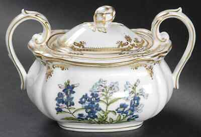 Spode STAFFORD FLOWERS (BONE) Sugar Bowl 9361888