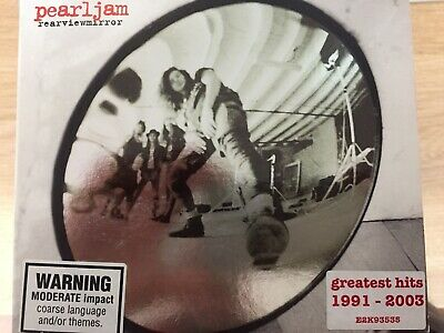 PEARL JAM - Rearviewmirror Greatest Hits 1991 - 2003 2 x CD Excellent Cond! 2CD