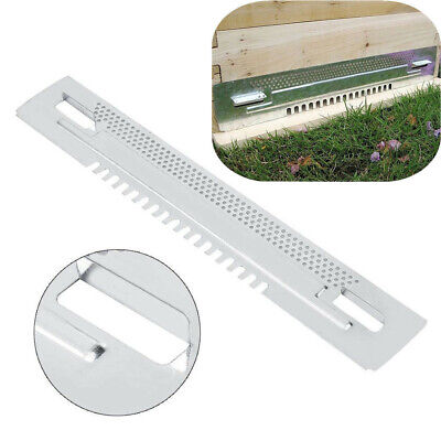 Zinc Plated Bee Hive Sliding Mouse Guards Travel Gates Beekeeping Equipment Door