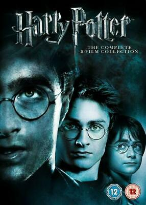 HARRY POTTER 1-8 box set DVD. New and sealed. delivery Free