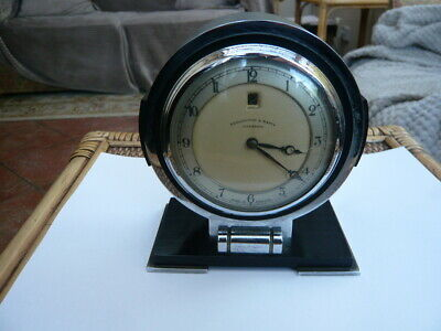 VINTAGE OLD Art Deco ELECTRIC MANTLE CLOCK PENLINGTON & BATTY LIVERPOOL SMITHS