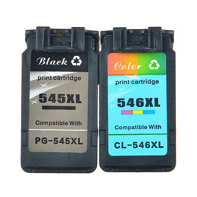 Cartridge for Canon PG-545XL 545XL CL-546XL 546XL PIXMA Full of Ink With Chip