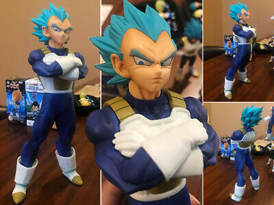 Collections Anime Jouets Dragon Ball Z Vegeta Yellow Hair Figurines Statues 24cm