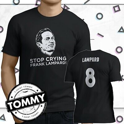 Derby Frank Lampard Wembley T Shirt, Stop Crying Frank Lampard DCFC #COYR