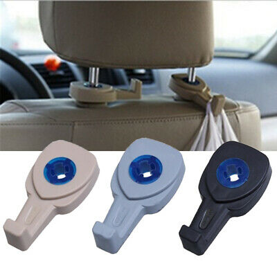 Car & Truck Parts Grocery Hide ABS Plastic Car Seat Back Hooks Cloth Hanger Auto Headrest