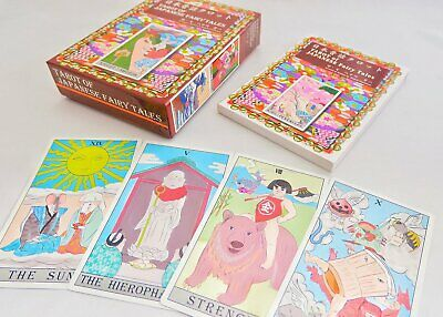 Tarot Deck Cards of Japanese Folk Fairy Tales 78 Pcs fortune-telling New Sealed