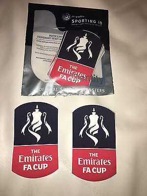 The Emirates FA Cup 2018 / 2019 Shirt Sleeve Patches - 100% Genuine Sporting iD