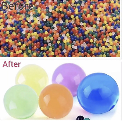 100000 Orbeez Water Ball Expanding Magic Balls Free Shipping UK Beads Refill Spa