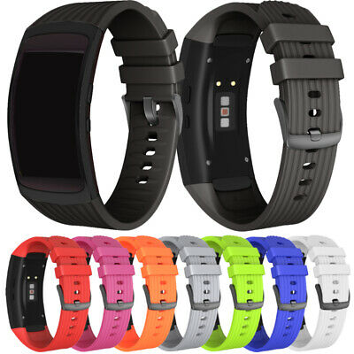 New For Samsung Gear Fit 2/Fit 2 Pro Replacement Soft Silicone Watch Band Strap