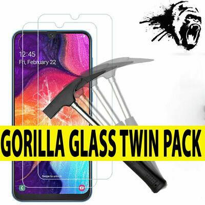 For Samsung Galaxy A20 A30 A40 A50 A60 A70 Tempered Glass Phone Screen Protector
