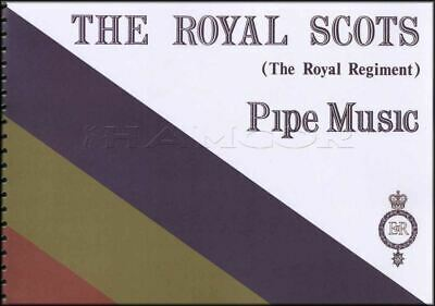 The Royal Scots Pipe Music Collection Book For Bagpipes