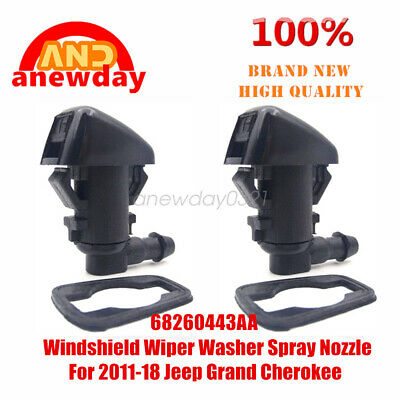 For 2011-18 Jeep Grand Cherokee 68260443AA Windshield Wiper Washer Spray Nozzle