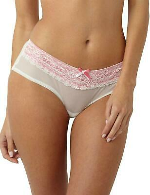 Panache Sophie Maternity Short Brief Knickers 5824 Ivory/Pink
