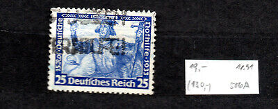 Briefmarke, Deutsches Reich,1933,gest.,Michel 506 A