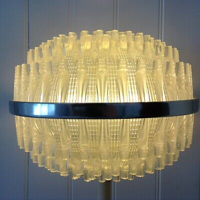 Vintage Space Age Style Ceiling Light Shade Retro Mid Century 1960'S/70'S Cool!