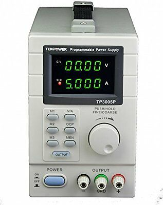 TEKPOWER TP3005P PROGRAMMABLE Variable DC Power Supply 0-30V at 0-5A