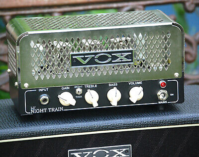 VOX Lil' Night Train Tube Amp - Röhrenverstärker 2 Watt + Box