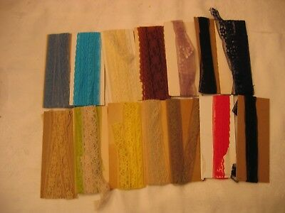 Vintage 14 Open Packages Seam Binding & Hem Tape Assorted Colors