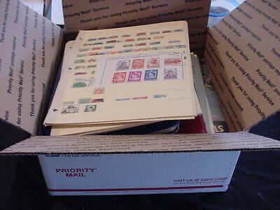 Worldwide Stamp Collection Large Usps Box Lot   90 Pics