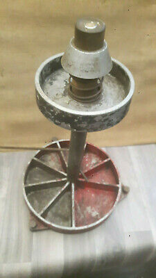 Vintage  static wheel balancer 50s 60s tool automoblia garage workshop equipment