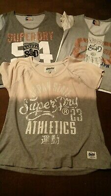 Ladies Superdry Bundle UK Size 12. Stunning Tops, worn once.