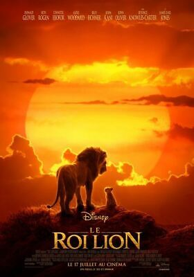 Le Roi Lion 2019 - Affiche cinema 40X60 - 120x160 Movie Poster