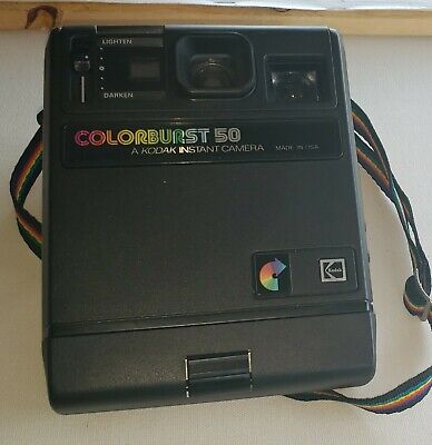 Kodak Colorburst 50 Instant Film Polaroid Camera Retro Vintage Old Photography