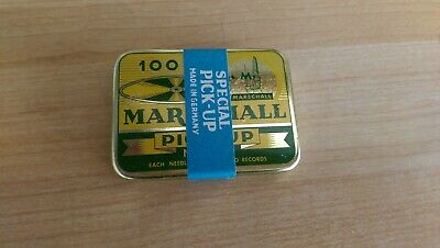 Gramophone needle tin Marshall full tin sealed