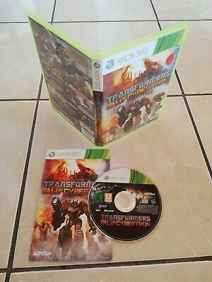 TRANSFORMERS THE GAME Cybertron Edition Xbox 360 Pal Con