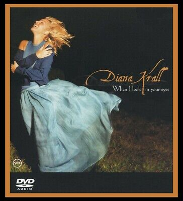 When I Look In Your Eyes Audio DVD by Diana Krall 2003 Bonus Track NEW