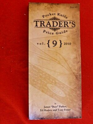 Jim Parker Pocket Knife Traders Price Guide 364 pages-A Must have book Vol 9!