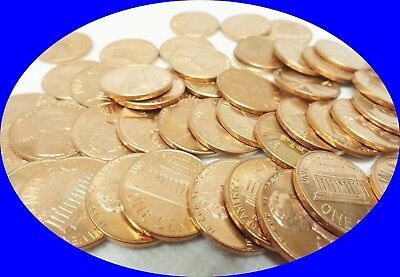 Roll of 50x 1959-D UNC. Lincoln Memorial Cents Pennies Old US Coins Penny Cent