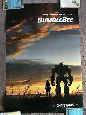 "Bumblebee Authentic One Sheet Movie Theater Poster 27"" X 40"""