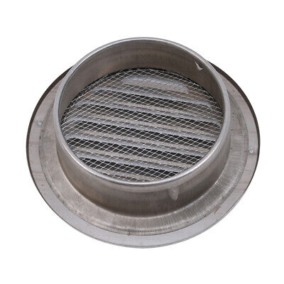 Stainless Steel Wall Air Vent Ducting Ventilation Exhaust Grille Outlet